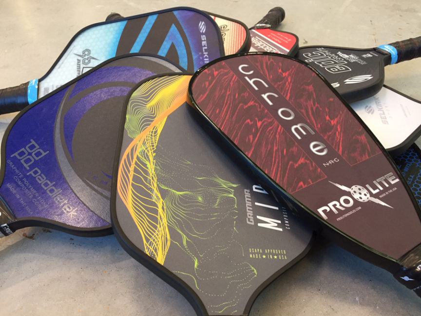 best pickleball paddles 2018